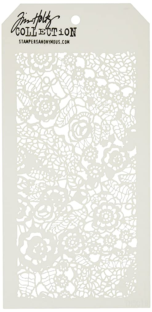 Stampers Anonymous Tim Holtz Layered Stencil, 4.125-Inch by 8.5-Inch, Doily