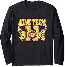 Mens Omega Nineteen 11 Bulldog Psi Hand Sign Phi Long Sleeve T-Shirt