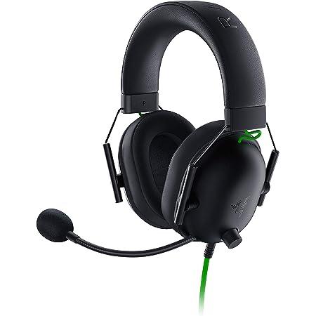Razer BlackShark V2 X Auriculares para Juegos Esports, Cable con Controlador de 50 mm, Reducción de Ruido, para PC, Mac, PS4, Xbox One y Switch