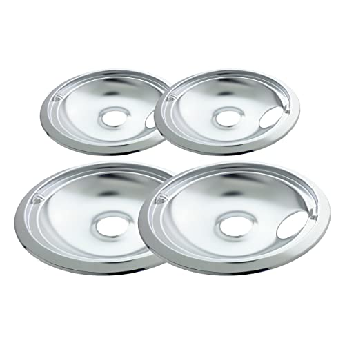 Range Kleen 11920-4X GE Drip Pans Containing 2 Units each 119A, 120A,