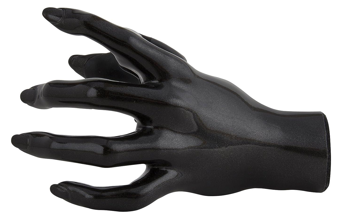 GuitarGrip LHGH-141 Hanger - Female Hand Black Metallic