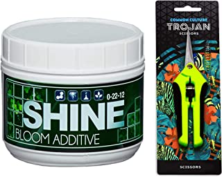 1 lb Shine by Veg + Bloom- A Hydroponic Powder That Enhances The Bloom Stage of Plant Growth. Add to Reservoir During Flowering to Maximize Crop Production | Common Culture Trimming Scissors Included
