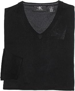Calvin Klein Men's V-Neck Merino Wool Sweater