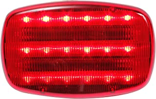 Red led light, battery powered, magnetic, heavy duty magnets,