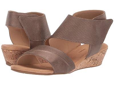 Rockport Calia Two-Piece Sandal (Bronze) Women