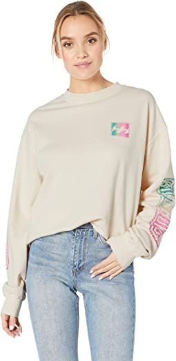 White Wash Sweatshirt