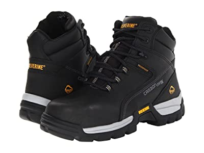 Wolverine Tarmac Comp Toe 6 Boot (Black) Men