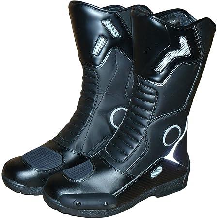 A Pro Niedrige Stiefel Motorradstiefel Wasserdicht Schuhe Sport Low Boots Schwarz 42 Auto