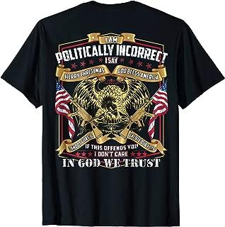 politically incorrect t shirts