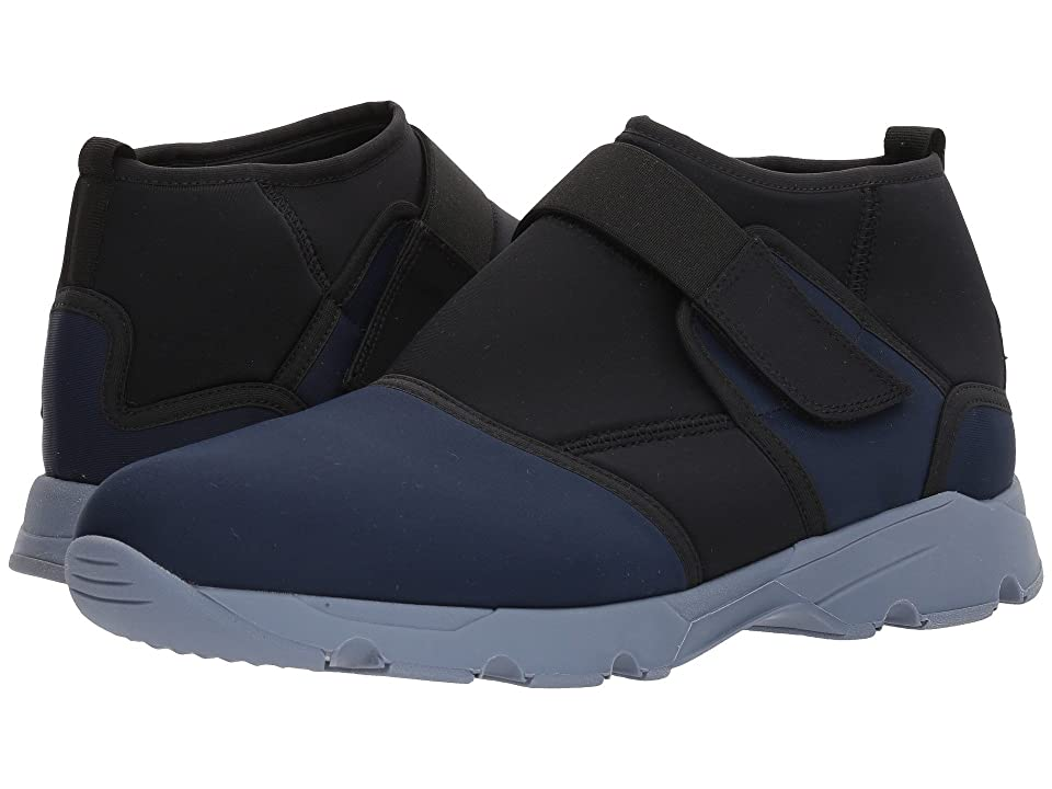 MARNI High Top Neoprene Sneaker (Navy) Men