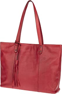 The Traveler Tote by Cedrus | Top-Grain Leather Tote Bag, Shoulder Bag for Women - CW31001