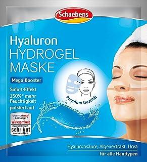 Schaebens Hyaluron Hydrogel masker, verpakking van 3 stuks (3 x 1 stuk)