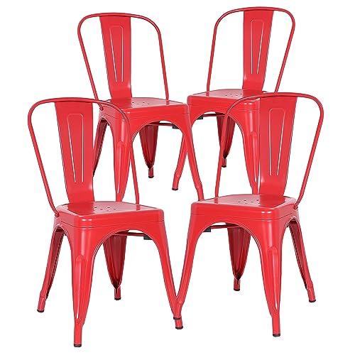 Peachy Modern Red Side Chair Amazon Com Beatyapartments Chair Design Images Beatyapartmentscom