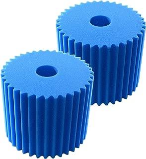 HQRP 2-Pack Blue Foam Filter (7