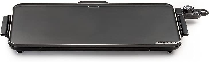 Presto 7072, Black Slimline Griddle, 22