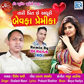 Tari Preet Chhe Adhuri Bewafa Premika (DJ Harish)