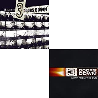 3 Doors Down: The Better Life & Away From The Sun Studio Album CD Collection