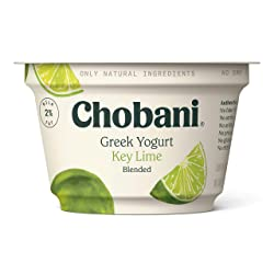 Chobani 2% Greek Yogurt, Key Lime Blended 5.3oz