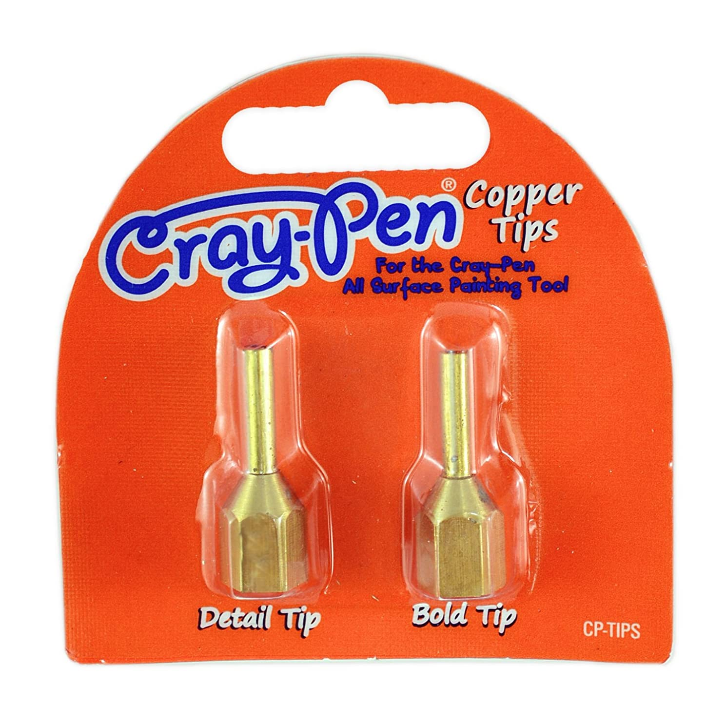 Surebonder Copper Replacement Tips for The Cray-Pen Painting Tool, Small