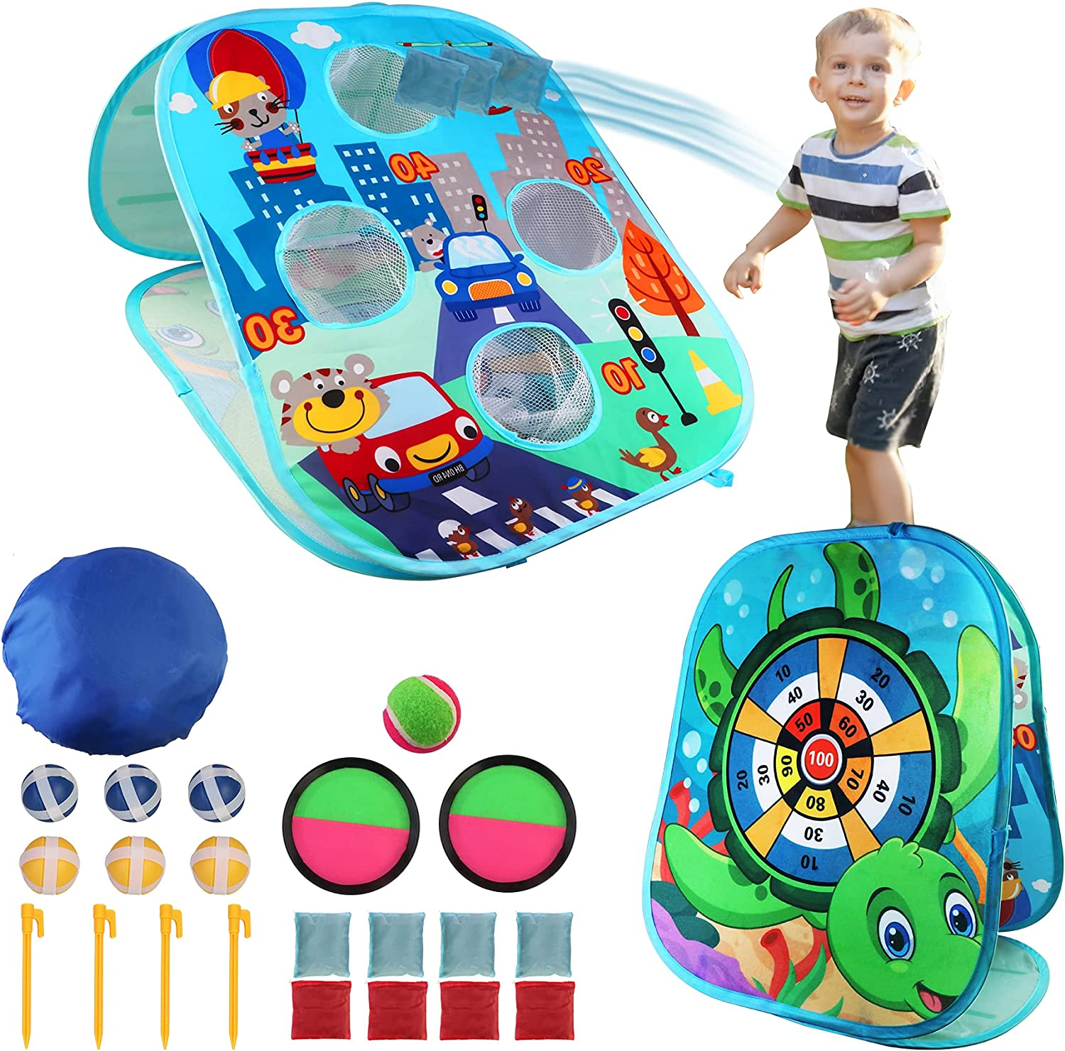 Liktoys Collapsible Portable Discount is also underway Bean Bag Catch Credence for Kids Game Toss
