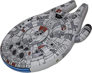 SwimWays Star Wars Millenium Falcon Ride-On Float - Inflatable Novelty Float for Pool