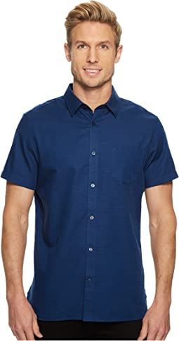Calvin Klein - Applied On Placket Slub Button Down