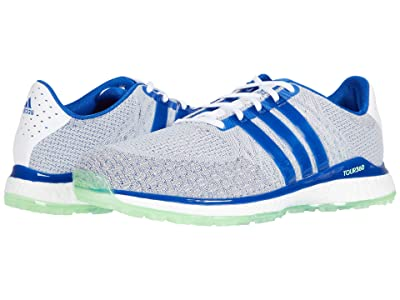adidas Golf Tour360 XT-SL Tex (White/Teal Royal Blue/Glory Mint) Men