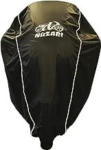 Premium Grade Weather Resistant Motorcycle Covers. Waterproof High Grade Polyester w/Soft Screen & Heat Resistant Shield Lockable fabric, Durable & Long Lasting. Sportbikes & Cruisers (medium black)