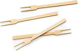 RSVP Bamboo Appetizer Forks