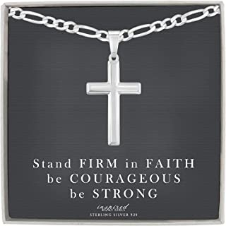 Best silver cross with chain Reviews