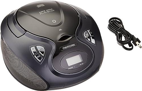 discount Memorex lowest discount MP3451 Am FM Bluetooth CD Boombox sale
