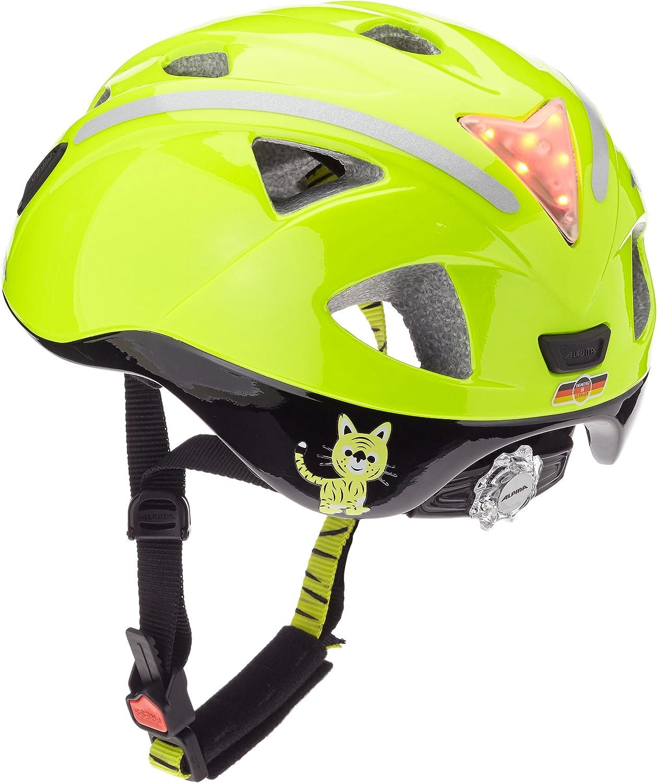 Alpina Ximo Flash Kinder Fahrradhelm, be visible reflectiv, 45-49 cm Be Visible Reflective