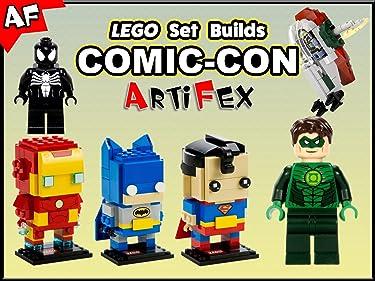 Clip: Lego Set Builds Comic-Con - Artifex