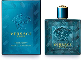 Versace Perfume - Eros by Versace - Perfume for Men, 100 ml - EDT Spray
