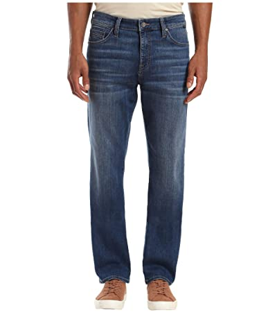Mavi Jeans Matt Relaxed Straight Leg in Dark Brushed Williamsburg (Dark Brushed Williamsburg) Men