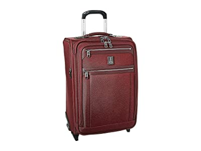 Travelpro Platinum(r) Elite 22 Expandable Carry-On Rollaboard (Bordeaux) Luggage