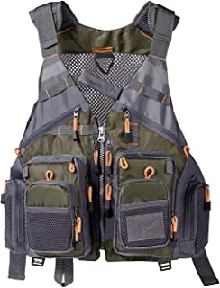 Lightbare Fly Fishing Vest Pack for Men with Pockets Photography Outdoor Jacket