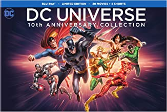 dc animated film collection