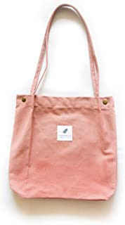 Canvas Tote Bag with Zipper Inner Pocket and Bottom.