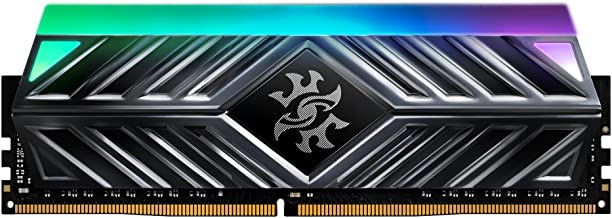 XPG Spectrix D41 RGB 3600MHz 16GB (2x8GB) 288-Pin PC4-28800 CL18 U-DIMM Desktop Memory Kit Gray (AX4U360038G18A-DT41)