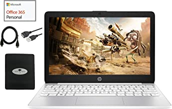 """2020 Newest HP Stream 11.6"""" HD Laptop for Business and Student, Intel Celeron N4000 (up to 2.6GHz), 4GB RAM, 32GB Storage,..."""