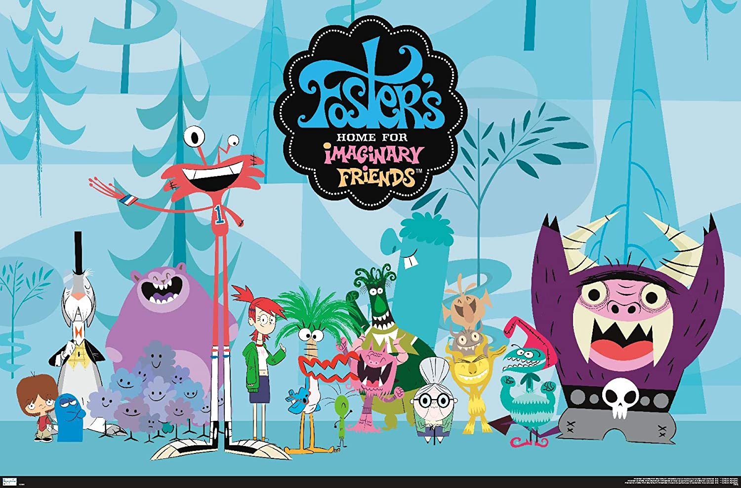 Trends International Foster's Home for Imaginary Friends - Group Wall Poster, 14.725