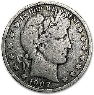 1907 S Barber Half Dollar Fine Half Dollar Fine
