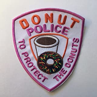 Best donut police patch Reviews