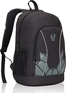 Veegul Luminous School Backpack Teens Glow Bookbag Boys Girls Daypack Black