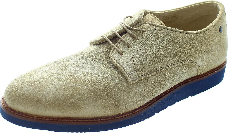 BASE LONDON GARRICK QH02123 man smooth suede derby shoes
