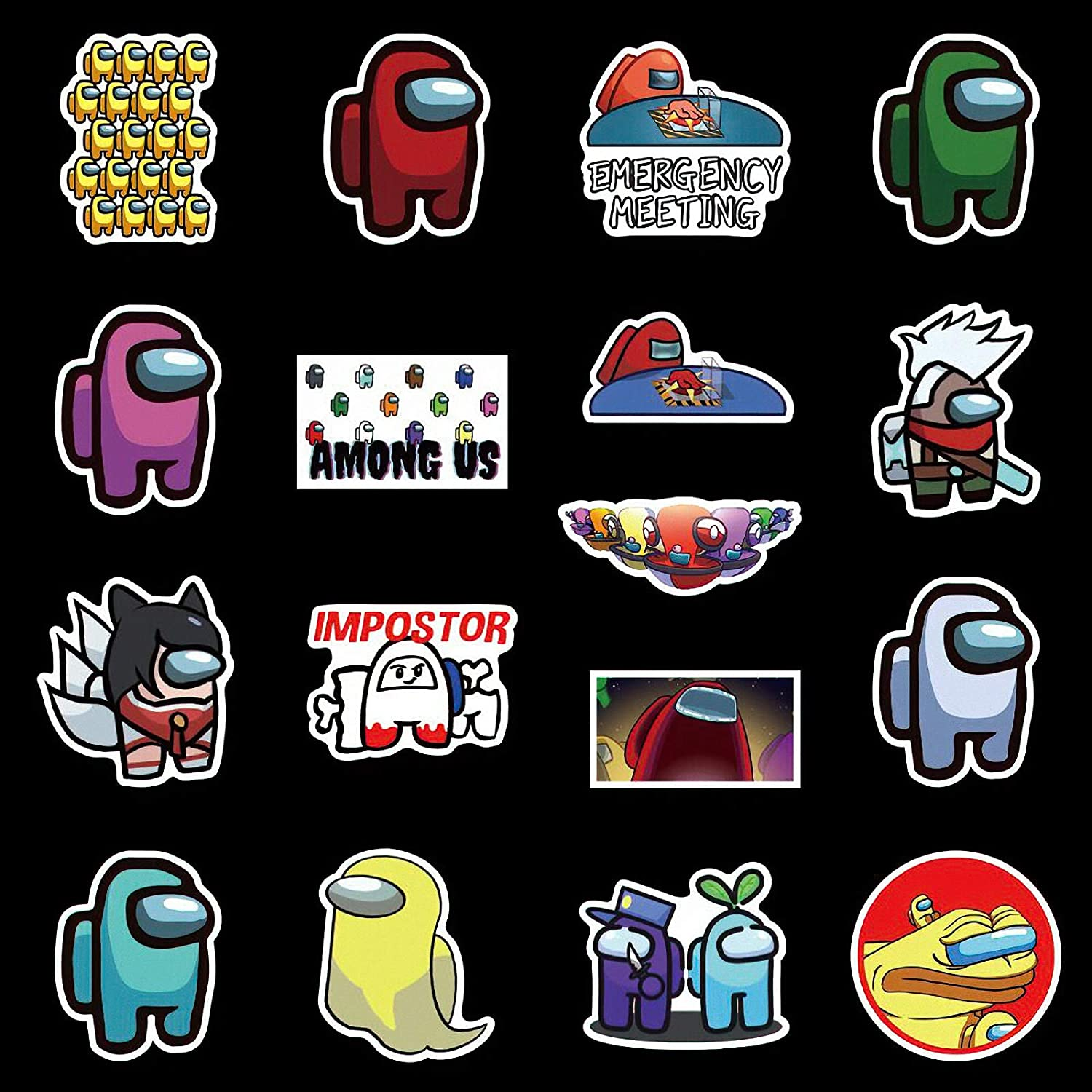 bumpers 100 computers DIY decoration as a gift for teenage girls hard hats laptops 100PCS popular game sticker decals car stickers and decals vinyl waterproof stickers water bottles phones