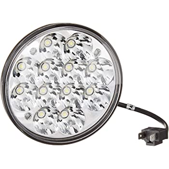 -Chrome 6 inch Driver side WITH install kit 2012 Mazda 6 SEDAN Post mount spotlight LED