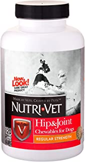 Nutri-Vet Hip & Joint Chewable Tablets for Dogs, 120 Count
