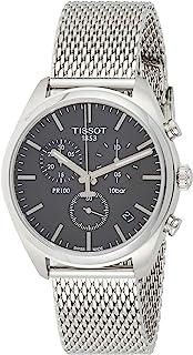 Tissot Men's PR 100 Chronograph - T1014171105101 Silver/Grey One Size
